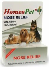 Homeopet Nose Relief Homeopathic All Natural Dog Canine Cat Feline 15 ml