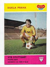 1978/79 UEFA Cup - DUKLA PRAHA v. VfB STUTTGART