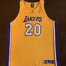 c88ebbe2c5b1 Rare Vintage Reebok NBA LA Los Angeles Lakers Brian Shaw Basketball Jersey