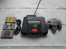 Nintendo 64 Region Free HD RGB Amp Modified Console w/ Scart Cable+Expansion Pak
