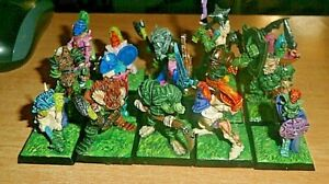 Warhammer Fantasy  Age of Sigmar Warriors of Chaos Knights 5 PRO PAINT minis extra fine detail