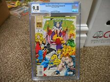 Guardians of the Galaxy Annual 4 cgc 9.8 Marvel 1994 WHITE pgs NM MINT giant 64