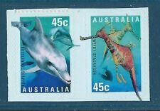 Australia 1998 Planet Ocean LIBRETTO COPPIA Autoadesivo unmounted Nuovo di zecca