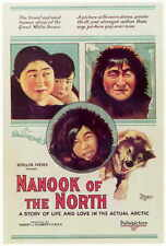 NANOOK OF THE NORTH Movie POSTER 11x17 Nanook