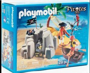 Playmobil 4139 ISLA PIRATA   Best Toys New with box Nuevo a estrenar