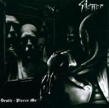 """SILENCER """"DEATH-PIERCE ME"""" CD NEW!"""