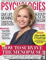 PSYCHOLOGIES Magazine Spring 2020 (BRAND NEW ISSUE)