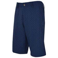 UNDER ARMOUR GOLF MEN'S MATCH PLAY NOVELTY SHORTS SZ:W34 ACADEMY NAVY DOTS 18992