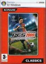 PES 2009 for PC Pro Evolution Soccer New and sealed