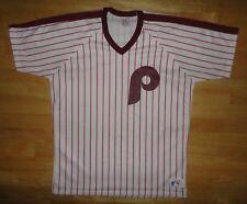 Vintage 1980s PHILADELPHIA PHILLIES White RAWLINGS Team Jersey - Adult Large L
