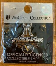 2016 PITTSBURGH PENGUINS PIN STANLEY CUP CHAMPIONS TROPHY STYLE NHL HOCKEY