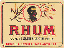 R429 RHUM SAINTE LUCIE ANTILLES PRODUIT NATUREL
