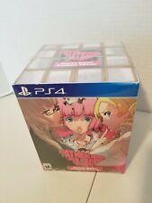 "USA PS4 Catherine: Full Body Heart's Desire Premium Ed. + 5"" Sheep Plush, Sealed"