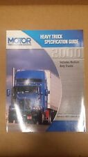 MOTOR HEAVY TRUCK SPECIFICATION GUIDE 1990-2000 1st Edition
