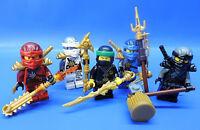 LEGO® Ninjago 5 Figuren   LLoyd / Jay / Zane / Cole / Kai / Polybag