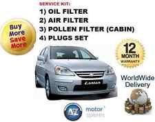 für Suzuki Liana 1.6i 2001-2008 ÖL LUFT POLLEN FILTER Service Kit + Stecker (4)