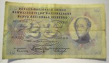 Banque Nationale Suisse 20 Franchi / Francs 1959 -  32-137