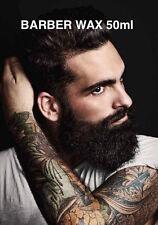 Barber Wax  für fixieren Bartpflege Bartwachs Bartwichse Beard Bart Pflege 50 ml