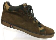 GBX Brown Camo Suede Leather Lace Up Ankle Boot Men's 12 M