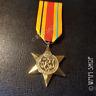Gold Plated AFRICA STAR Military MEDAL WW2  AWARD ARMY NAVY RAF COPY GEORGE VI
