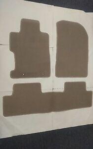 For 06-11 Honda Civic 2 4Dr Floor Mat Carpets Beige Nylon