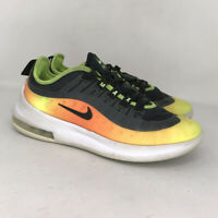 Nike Boys Air Max Axis RF AV7590-001 Black Yellow Orange Running Shoes Size 5.5Y