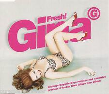 GINA G - Fresh! (UK 4 Track CD Single Part 1)