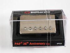 DiMarzio REGULAR SPACED PAF 36th ANNIVERSARY Bridge W/Nickel Cover DP 223