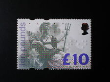 GB QE 1993 £10 Britannia High Value Superb MNH