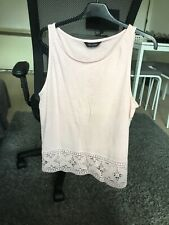 New Look Pink T Shirt Size 14