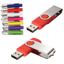 64GB USB 2.0 Flash Drive Memory Stick Storage Thumb Swivel U Disk