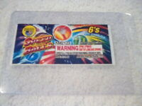 Firecracker Label ( SPEED BALL ) LABEL RARE and COLLECTABLE ITEM LOOK LABEL ONLY