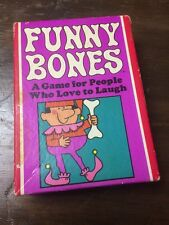 Funny Bones Card Game 1968 Parker Brothers A Game for People Who Love to Laugh!!