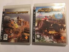 2 COMPLETE PAL PLAYSTATION 3 PS3 RACE RACING GAMES MOTORSTORM + PACIFIC RIFT