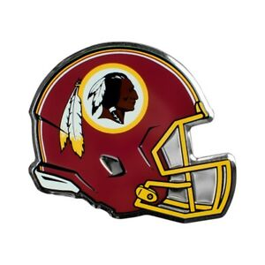 Washington Redskins Easy Peel & Stick Full Color Aluminum Helmet Emblem