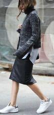 SPORTSCRAFT Butter-soft Black Leather Skirt 12