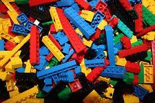 Lego 200 Bausteine Basic Steine Grundsteine gemischt  Rot Grün Schwarz Weiß  Bla
