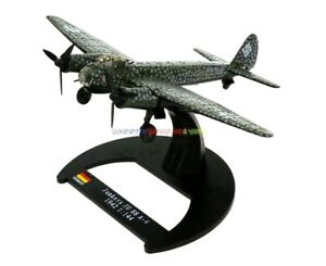 1/144 Diecast Plane German Junkers Ju 88 A-4 Heavy Bomber WWII 1942 Aircraft