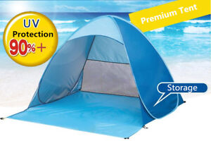 Beach Tent UV Sun Shelter Lightweight Beach Sun Shade Canopy Cabana Tents