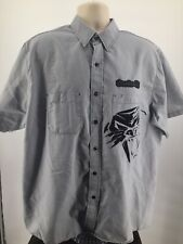 Arcticwear Arctic Cat Men's Cathead Button Up Pit Shirt XL