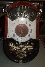 Works Great! Small World Rhythm Clock - Carnival sound & motion clock 18 Songs!