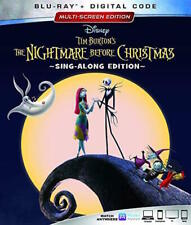 The Nightmare Before Christmas 25th Anniversary Edition Blu-ray Jack Sally Movie
