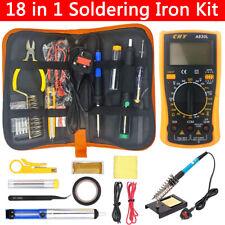 Soldering Iron Kit 60w Electronics Welding Irons Tool Adjustable Temperature