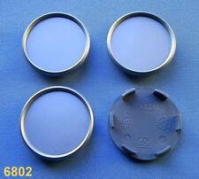 (6802) 4x Nabenkappen Nabendeckel Felgendeckel  68,0 / 62,0 mm für Alufelgen