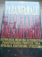 Paranormale Dizionario Enciclopedico grande volume rilegato