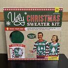 Ugly Christmas Sweater Kit Red Size Medium XMAS Holiday New