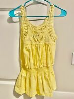 Cute Small Puntocom Junior Women's Yellow Blouse Top / Shirt from Colombia