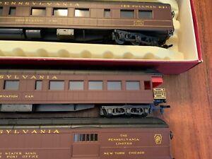 HO Scale Rivarossi Pennsylvania / PRR Heavyweight Passenger Cars