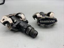 Shimano PD-M520-L SPD de montaña Bicicleta De Montaña Pedales automáticos Negro Plata