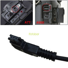 Timer Shutter Remote Connecting Cable Cord For Sony A900 A850 A700 A550 A450 A65